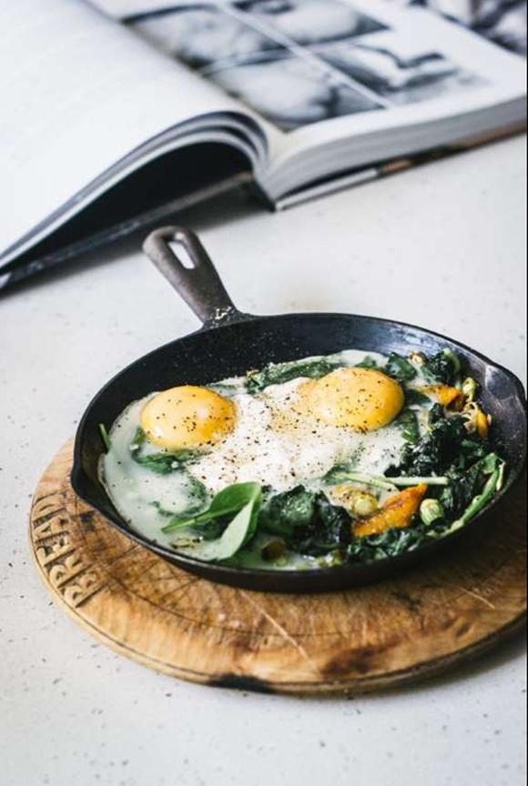 Huevos Con Verduras Al Horno