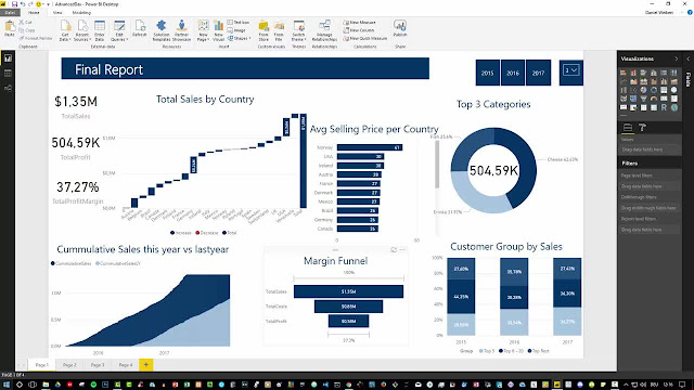 Power BI Masterclass - beginners to advanced