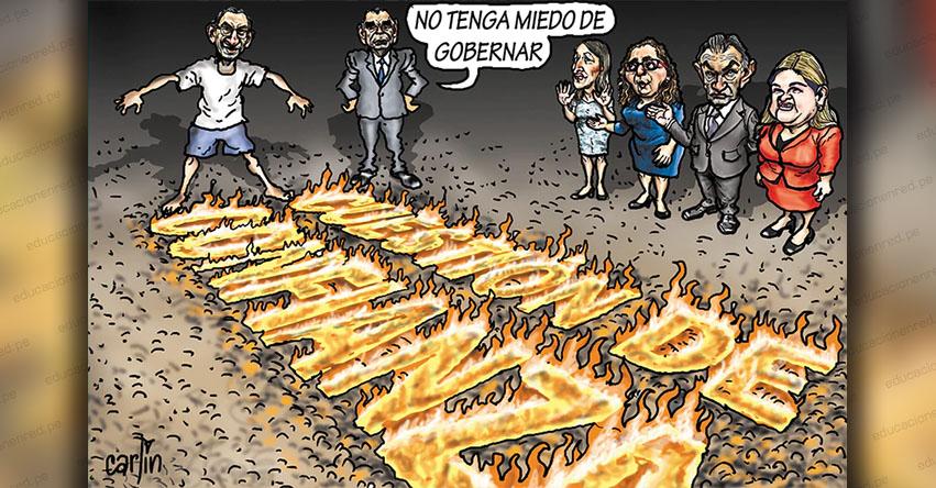 Carlincaturas Viernes 23 Agosto 2019 - La República