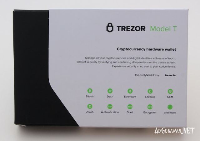 Unboxing Wallet Trezor One
