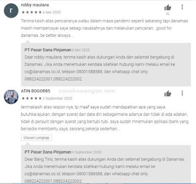 Review Danamas