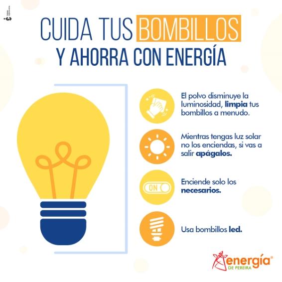 El ahorro energético puede verse reflejado en pequeñas acciones