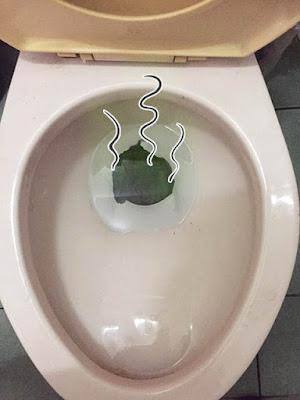 馬桶有臭味