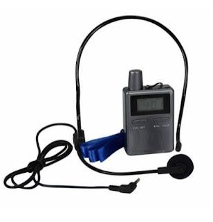 noleggio radio guide wireless