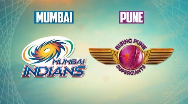 RPS vs Mumbai Indians Live match score