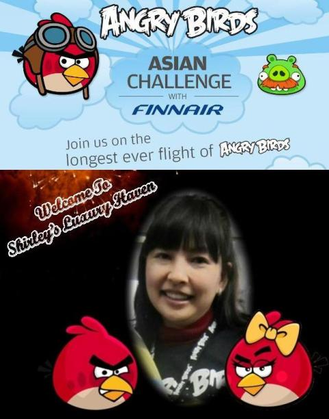 shirley tay in angry birds asian challenge