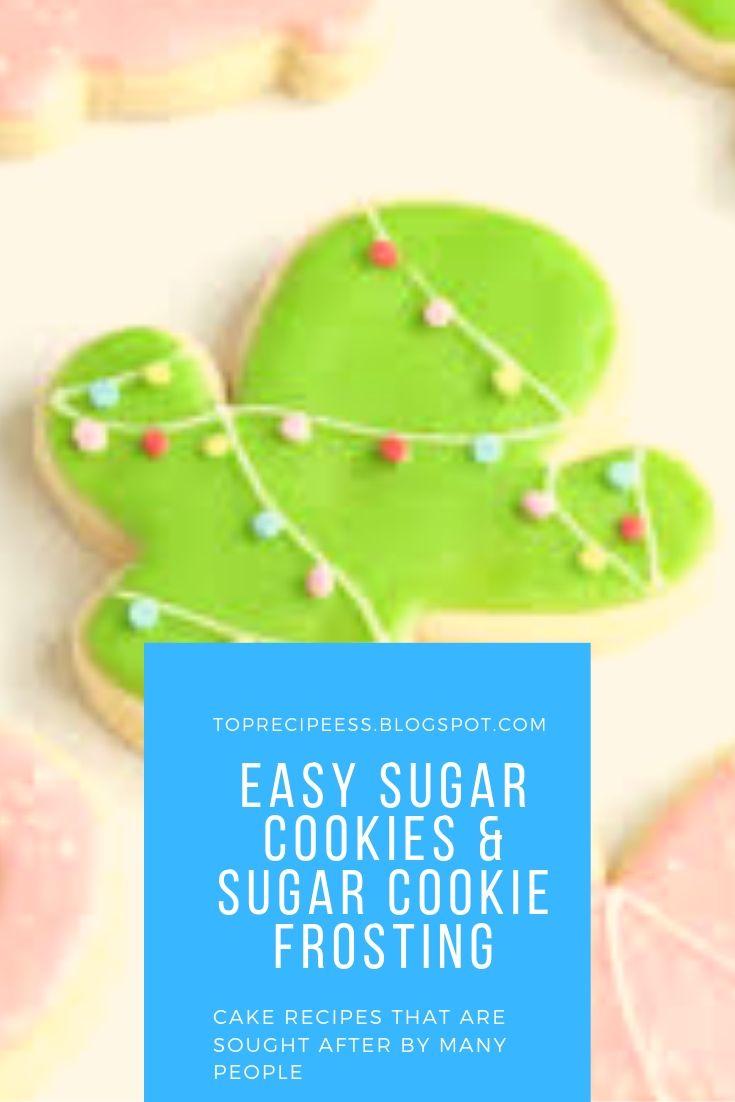 Easy Sugar Cookies & Sugar Cookie Frosting | chocolatechip Cookies, peanut butter Cookies, easy Cookies, fall Cookies, Christmas Cookies, snickerdoodle Cookies, nobake Cookies, monster Cookies, oatmeal Cookies, sugar Cookies, Cookies recipes, m&m Cookies, cakemix Cookies, pumpkin Cookies, cowboy Cookies, lemon Cookies, brownie Cookies, shortbread Cookies, healthy Cookies, thumbprint Cookies, best Cookies, holiday Cookies, Cookies decorated, molasses Cookies, funfetti Cookies, pudding Cookies, smores Cookies, crinkle Cookies, glutenfree Cookies, cream cheese Cookies, redvelvet Cookies, coconut Cookies, vegan Cookies, gingerbreadCookies, almondCookies, #Cookiesdrawing #easterCookies #Cookiesachocolatechips #Cookiesaroyalicing #Cookiesbchocolatechips #Cookiesbpeanutbutter #Cookiesbroyalicing #Cookiescchocolatechips #Cookiesdchocolatechips #Cookiesdpeanutbutter #Cookiesgglutenfree #Cookiesgchocolatechips #Cookiesichocolatechips #Cookiesibaking #Cookieskchocolatechips #Cookieskpeanutbutter #Cookieslchocolatechips #Cookiesmchocolatechips #Cookiesmpeanutbutter #Cookiesmglutenfree