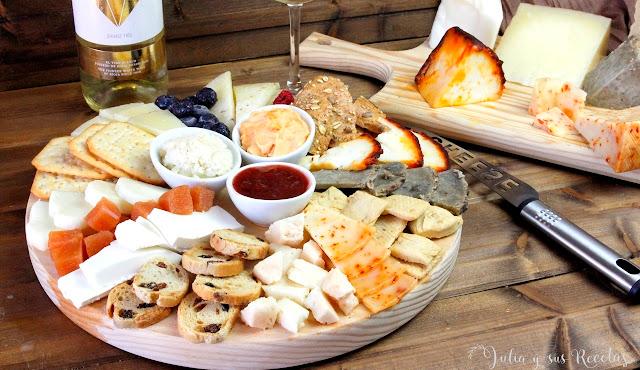 Cómo hacer una table de quesos. Julia y sus recetas