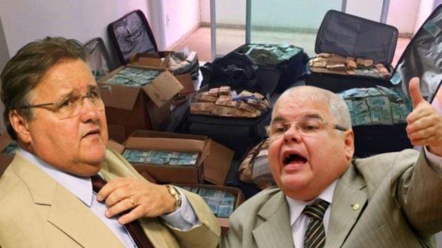 Geddel e Lúcio são condenados no caso do bunker dos R$ 51 milhões