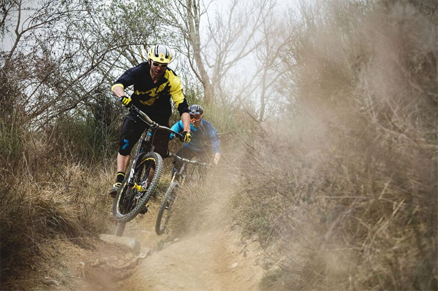 Fabien Barel And Florian Nicolai Enduro Their Back Garden