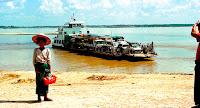 Irrawaddy River Ferry