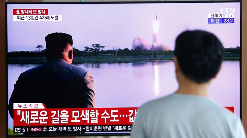North Korea fires possible submarine-launched ballistic missile