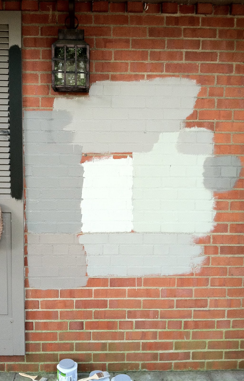 NINE + SIXTEEN: Say Yes to the Paint... on Brick House Painting Ideas  id=97597
