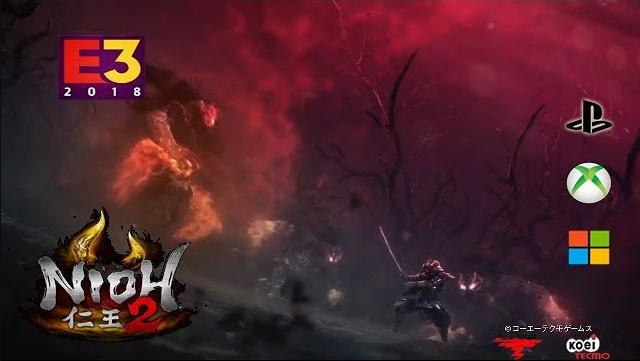 """""""Nioh 2"""" Hot game hành động Ninja Samurai 2019"""