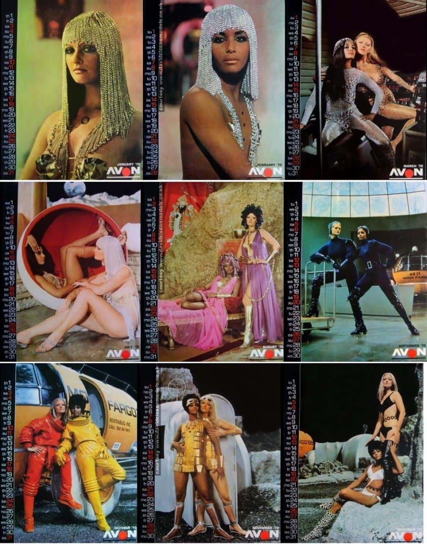 CALENDARIO PROMOCIONAL DE LA PELÍCULA MOON ZERO TWO (1969)