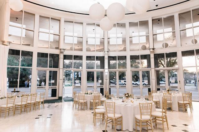 wedding reception at orlando museum of art