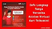Info Lengkap Tanya Veronika Asisten Virtual dari Telkomsel