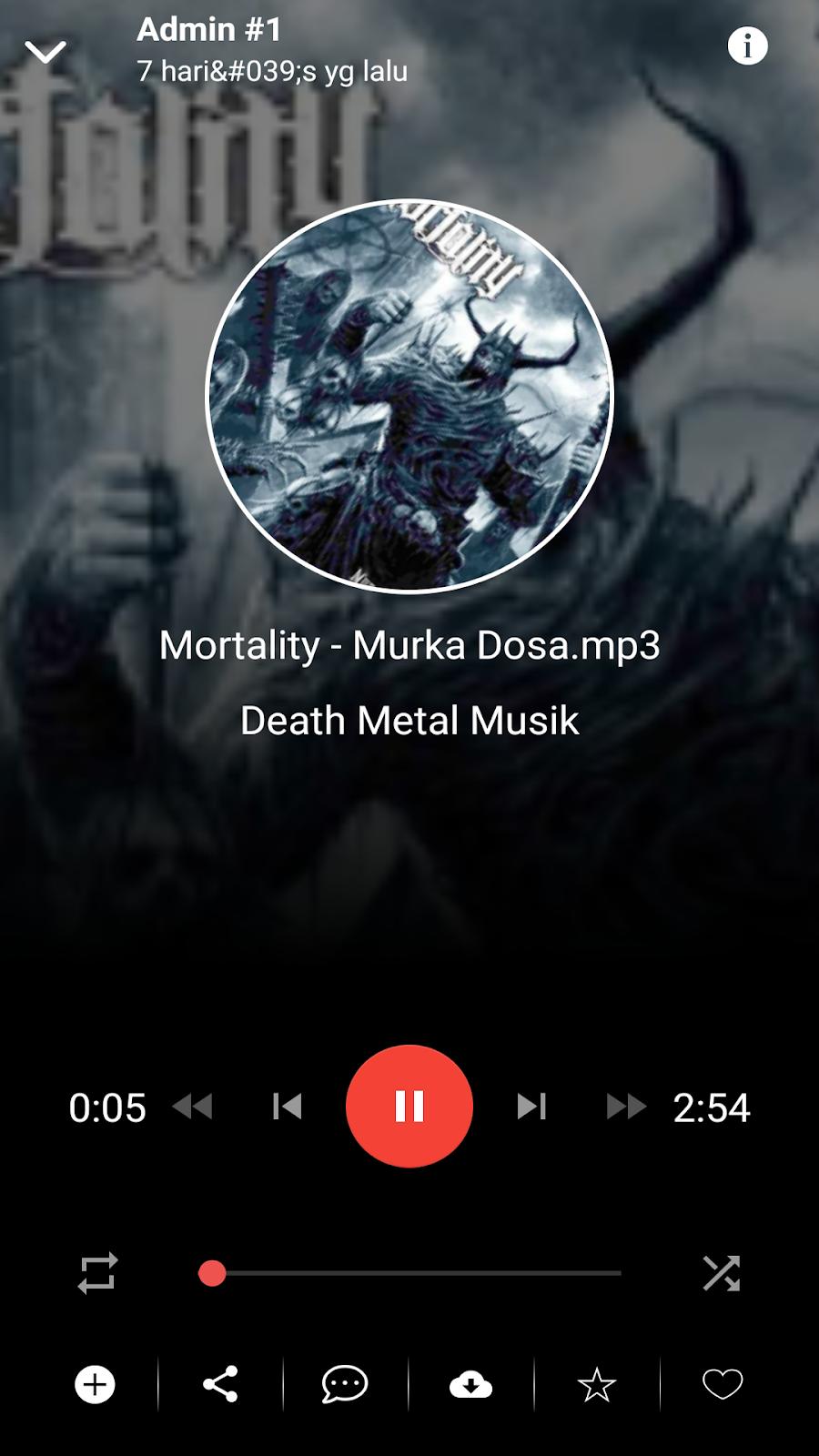 aplikasi android lagu metal indonesia