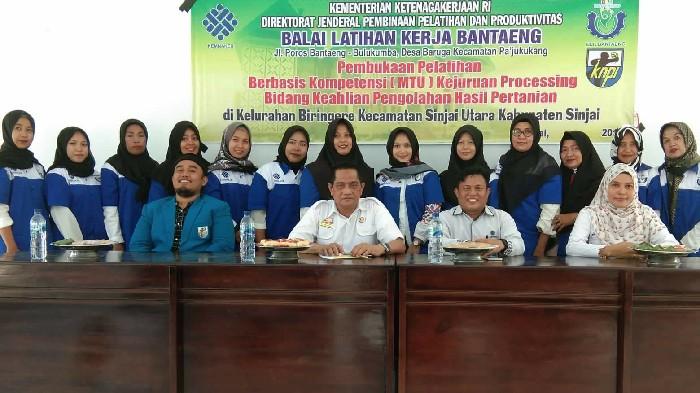 KNPI Sinjai Utara Gandeng BLK Bantaeng Ciptakan Wirausaha Muda