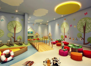 ديكورات ورسومات جبس غرف نوم اطفال 2019-2020
