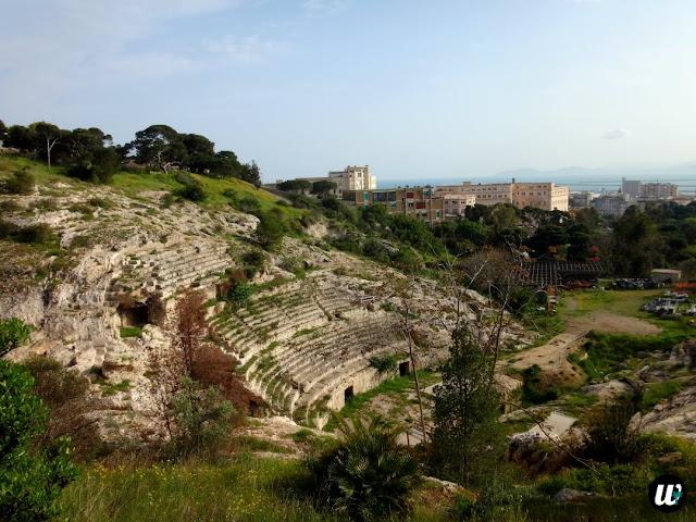 Roman Amphitheatre, Cagliari | Sardinia, Italy | wayamaya