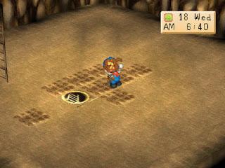 Panduan Menambang di Game Harvest Moon BTN
