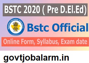 Rajasthan BSTC online application