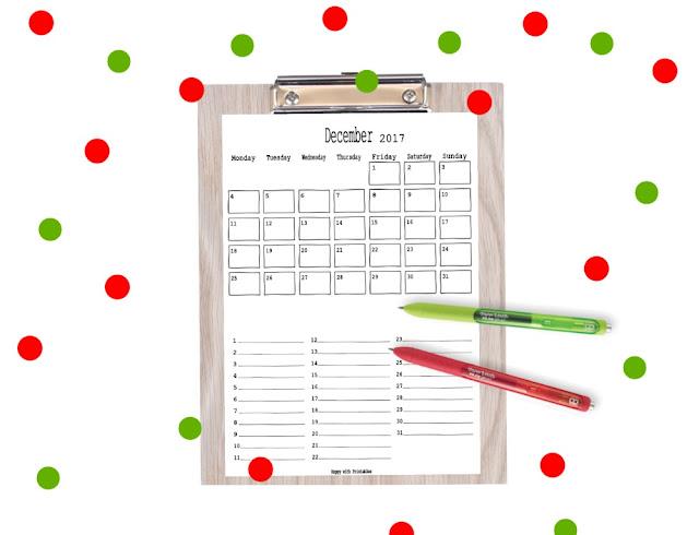 planner december, december planner, planner christmas,