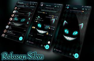 Black Cat Theme For YOWhatsApp & Fouad WhatsApp By Robsson