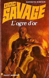 Doc Savage illustré par James Bama
