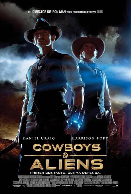 Cowboys vs Aliens 2011 [DVDRip] Español Latino Descargar 1 Link