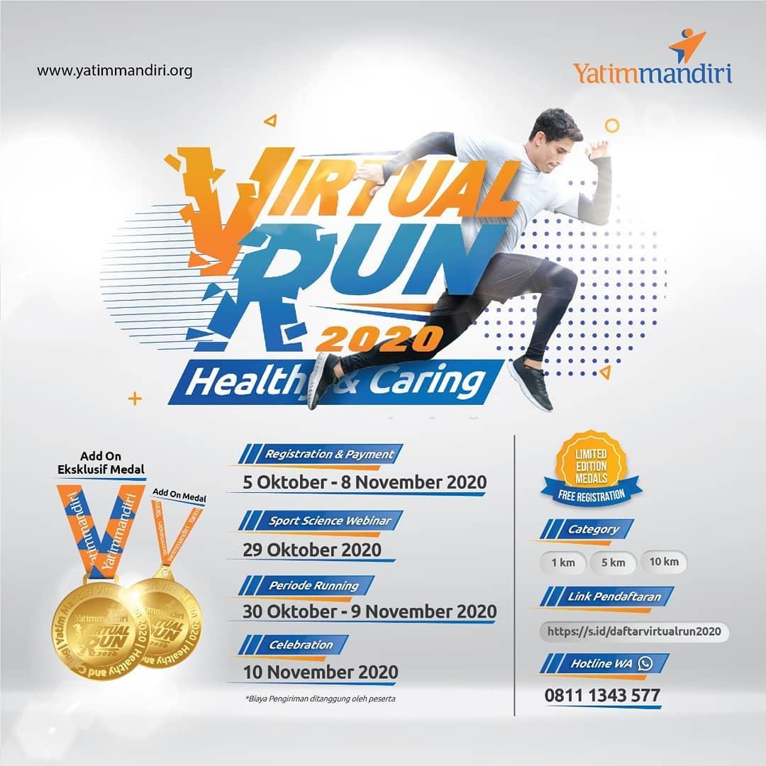 Yatim Mandiri Virtual Run • 2020
