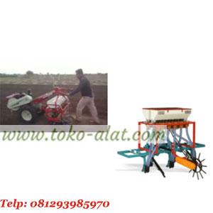 Mesin penanam jagung (hand traktor)