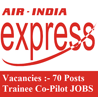 Air India Express, Co-Pilot, Trainee, freejobalert, Sarkari Naukri, Latest Jobs, air india express logo