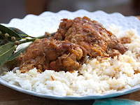 CHICKEN ADOBO FROM THE PHILIPPINES