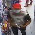 Altinho-PE: Elemento usando mascara de proteção furta produtos em farmácia no centro da cidade