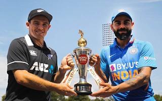 Cricket Highlightsz - New Zealand vs India 3rd ODI 2020