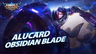 Skin Alucard - Obsidian Blade