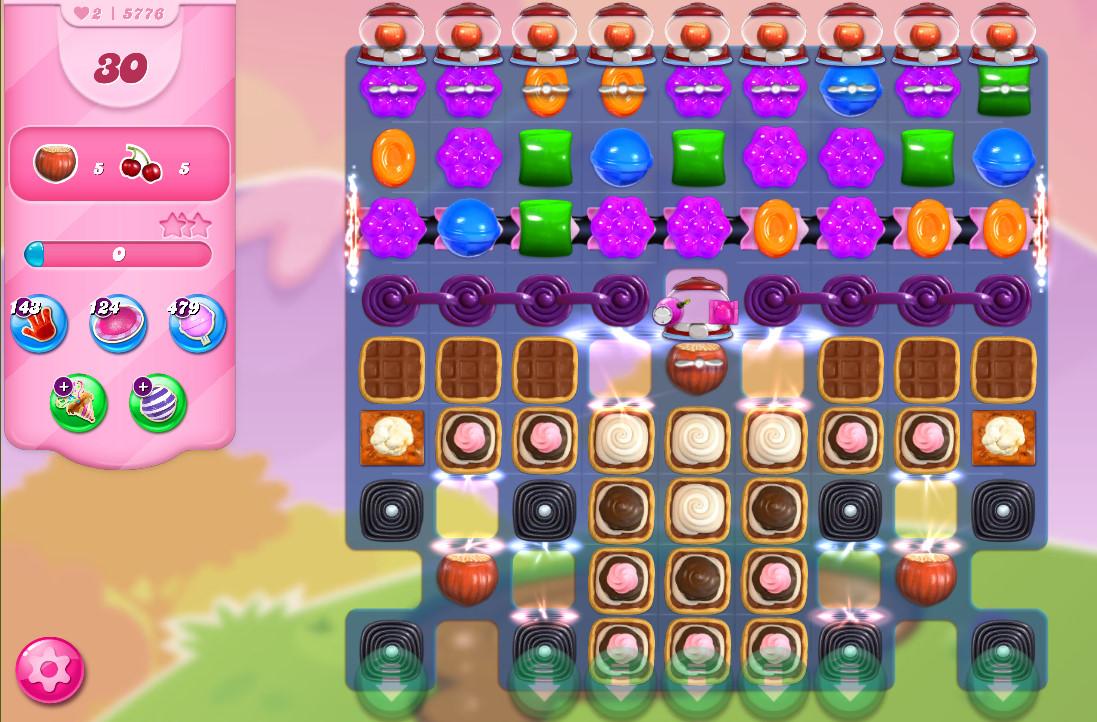 Candy Crush Saga level 5776