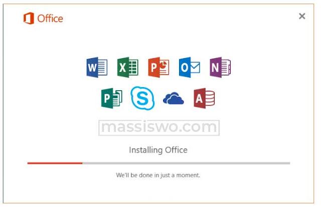 Instal Microsoft Office 2019
