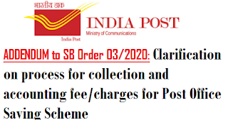 clarification-process-for-collection-and-accounting-fee-charges-for-post-office-saving-scheme