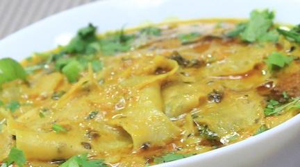 Papad ki Sabzi Recipe in Hindi