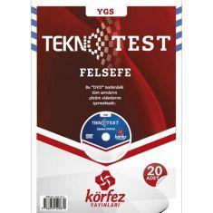 Körfez YGS Felsefe Tekno Test Çözümlü DVDli