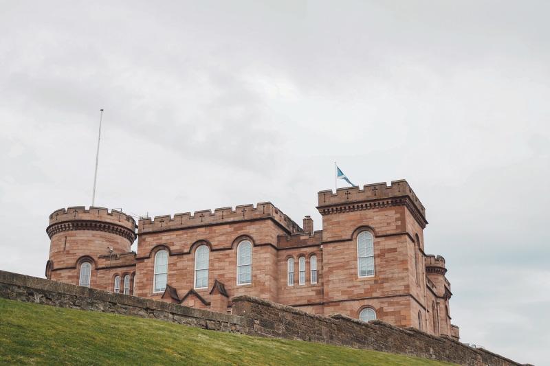 Le château d'Inverness en Ecosse