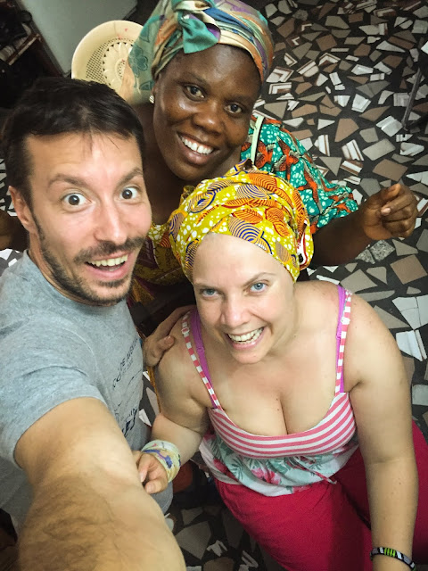 Headwrapping Workshop, Global Mamas; Cape Coast, Ghana