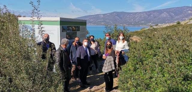 Επίσκεψη Μαλτέζου - Καλογεροπούλου στην Ερμιονίδα για την αναβάθμιση των τουριστικών υποδομών