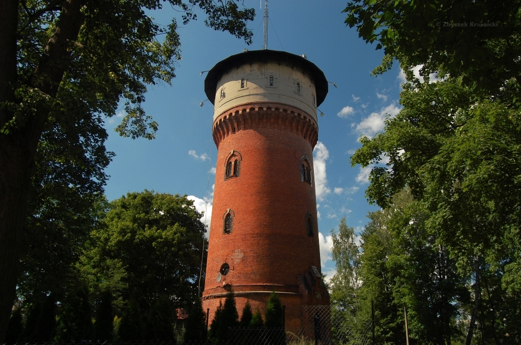 Ostróda, wieża wodna