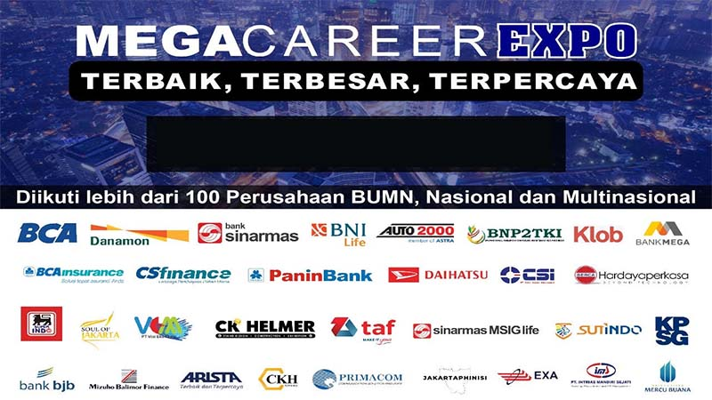 Job Fair MEGA CAREER EXPO Garuda Organizer