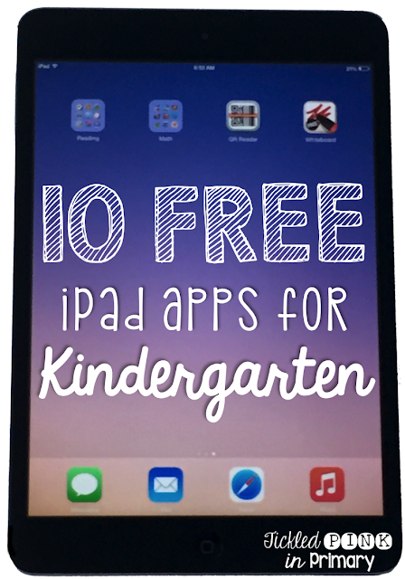 10 FREE Apps for Kindergarten that Students Love
