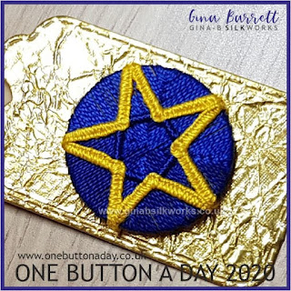 One Button a Day 2020 by Gina Barrett - Day 107 : Moore